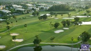 ドローンでゴルフ場を空撮 ドローン4K Golf