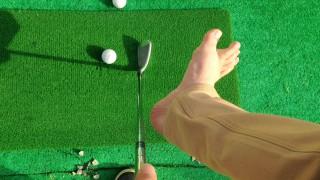 知らないゴルファーは損してる!【左足の軸】ゴルフスイング練習法。