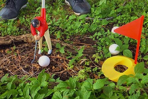 倉本昌弘のゴルフのおもちゃ