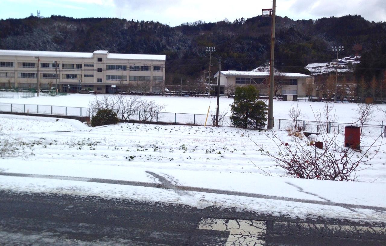 雪の為ゴルフ練習場閉店
