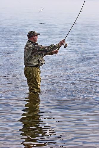 釣りの遠投
