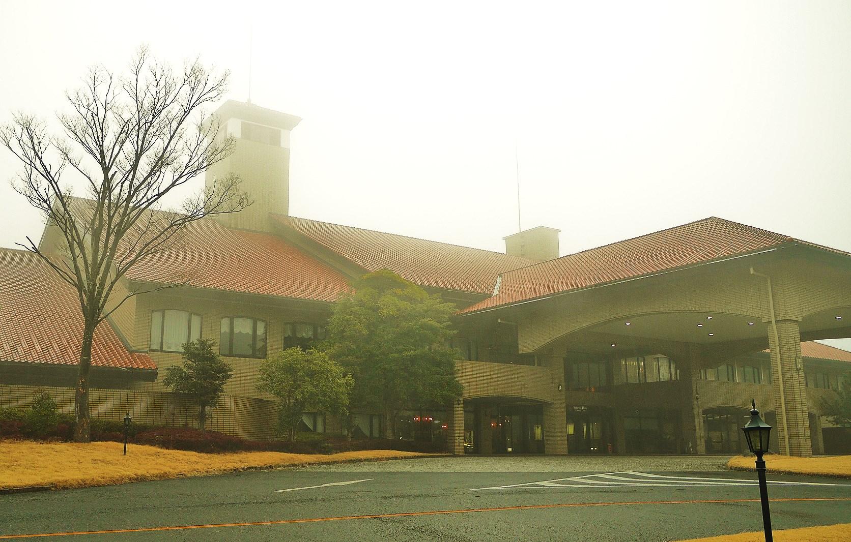サンライズヒルズカントリークラブのクラブハウス