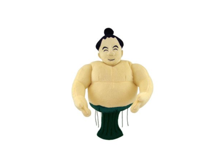 相撲レスラーヘッドカバー