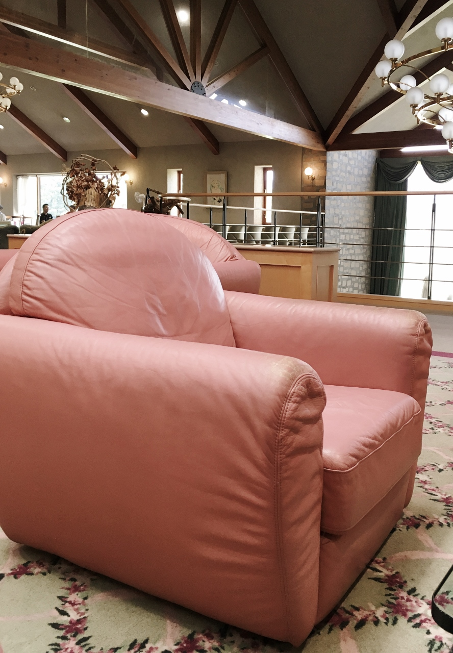 鮎滝カントリークラブの椅子