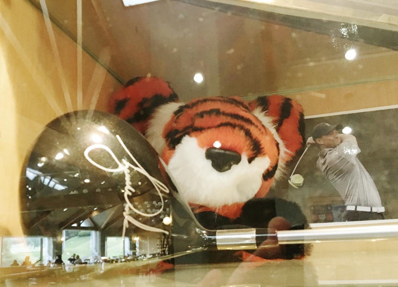タイガー・ウッズのサイン