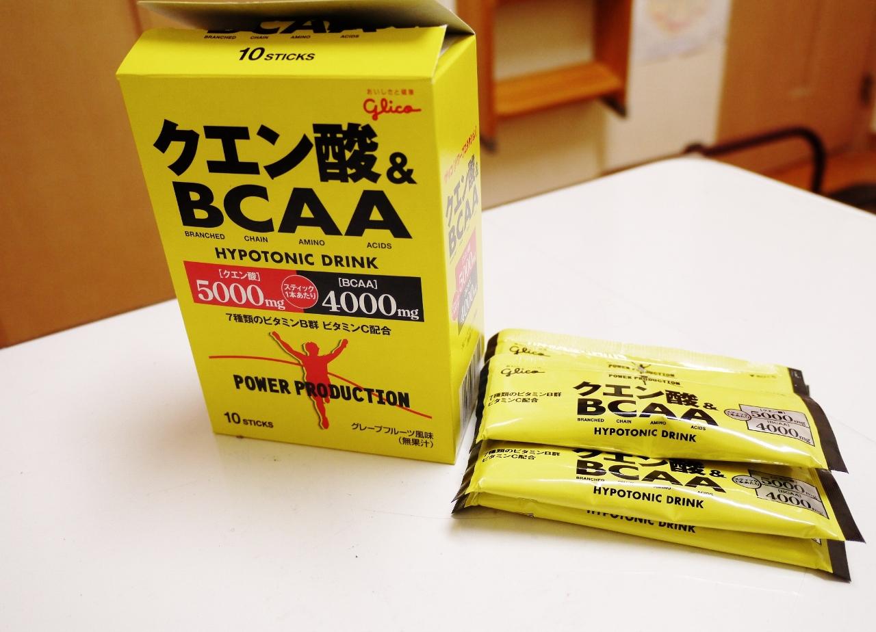 グリコ パワープロデクション クエン酸&BCAA
