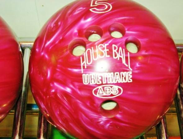 ボウリングの球