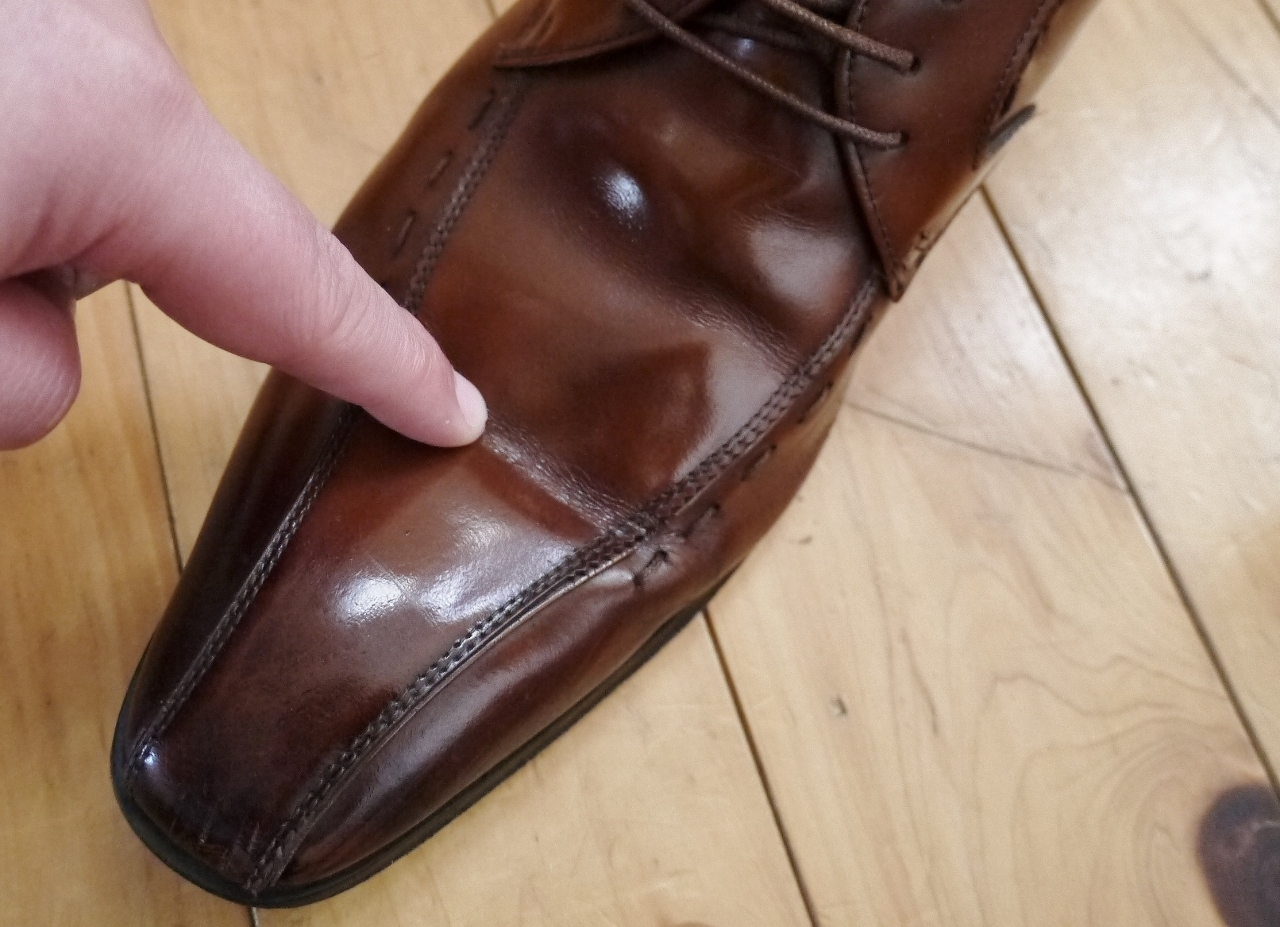 革靴の見分け方