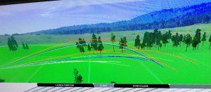 ゴルフ飛距離シミュレーション