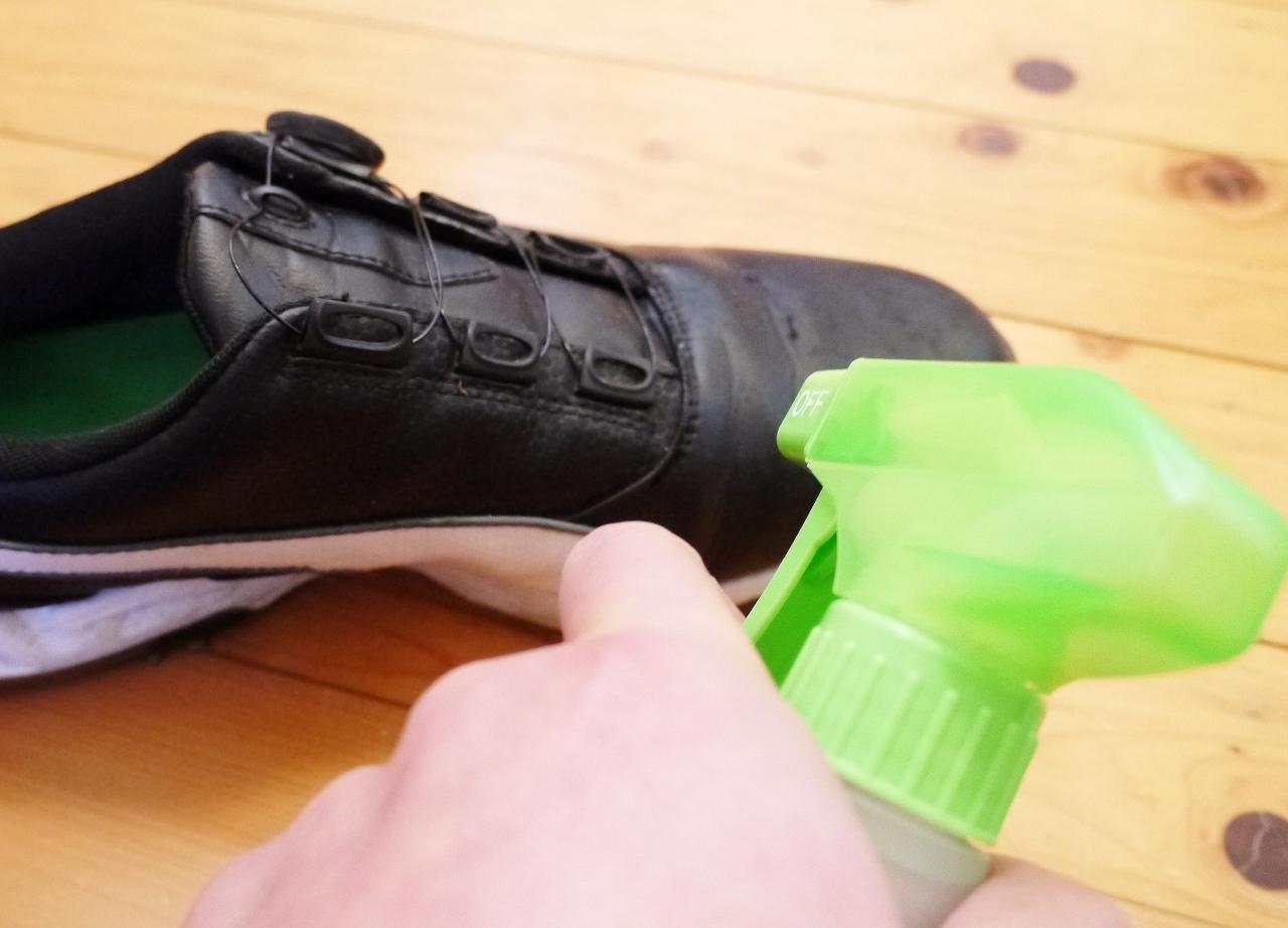 靴の清掃方法その1