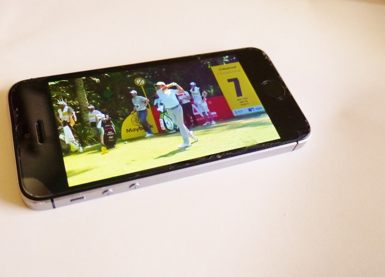 abemaTVをiPhoneで視聴