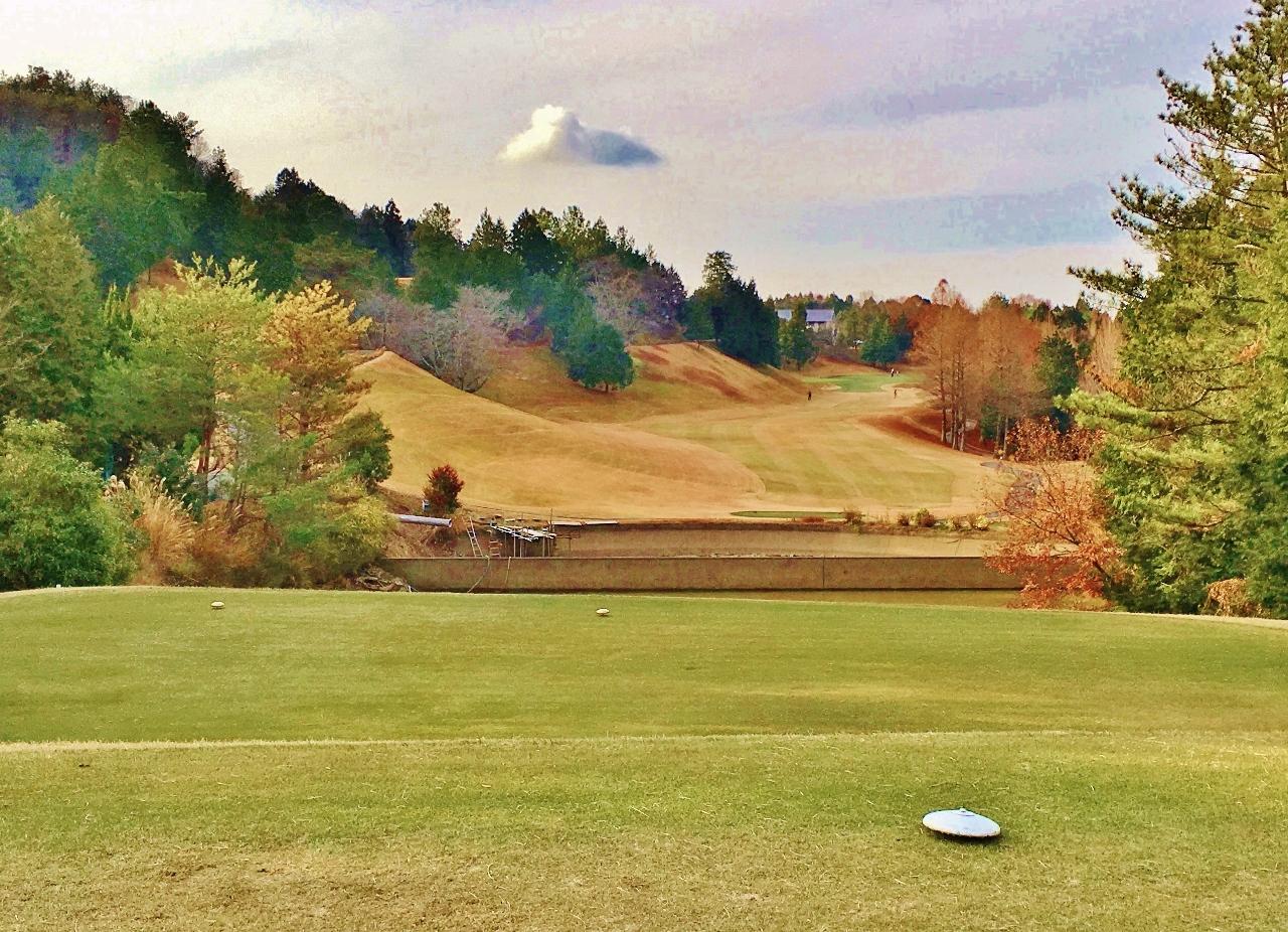 ゴルフ場のティーグランド