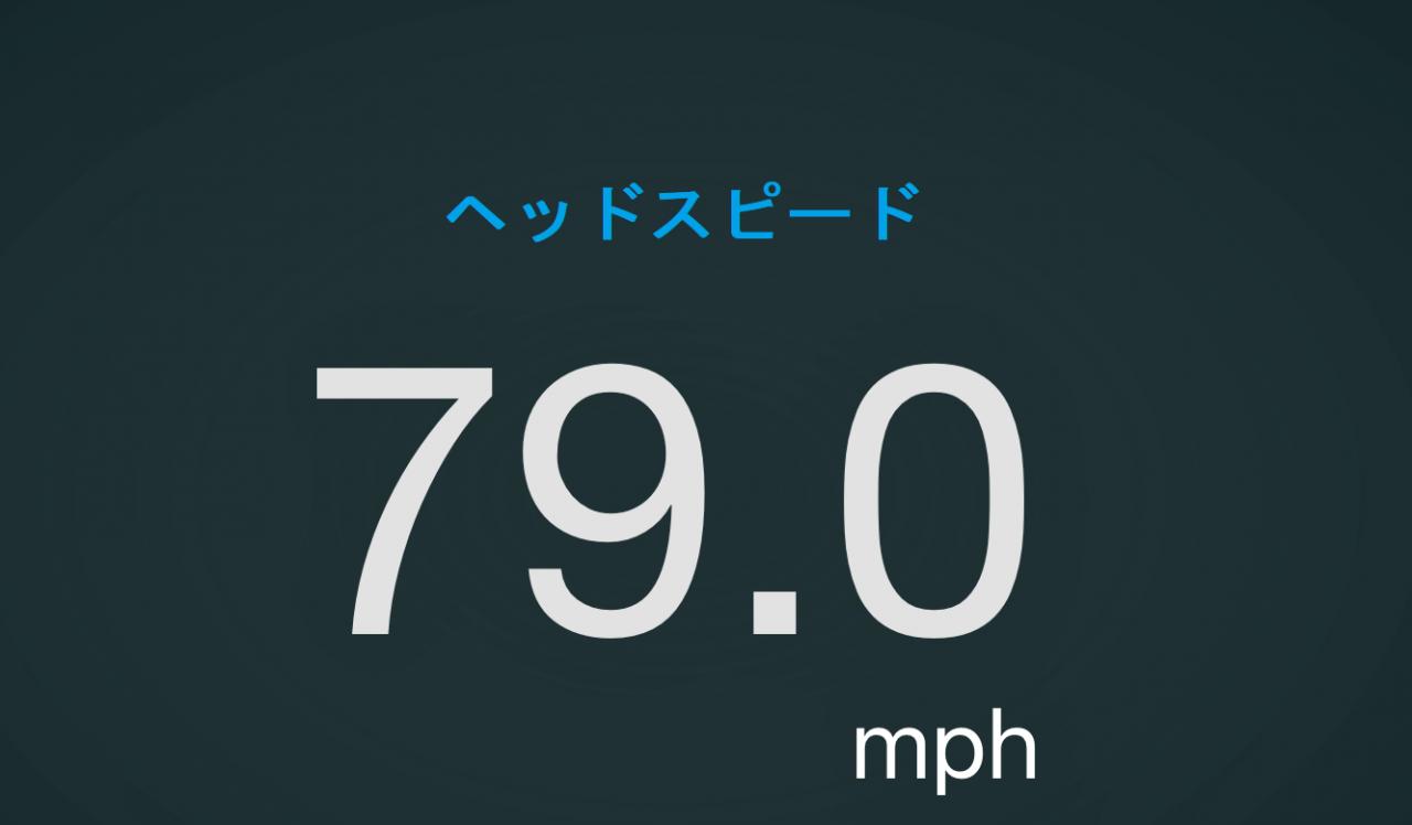 ヘッドスピード