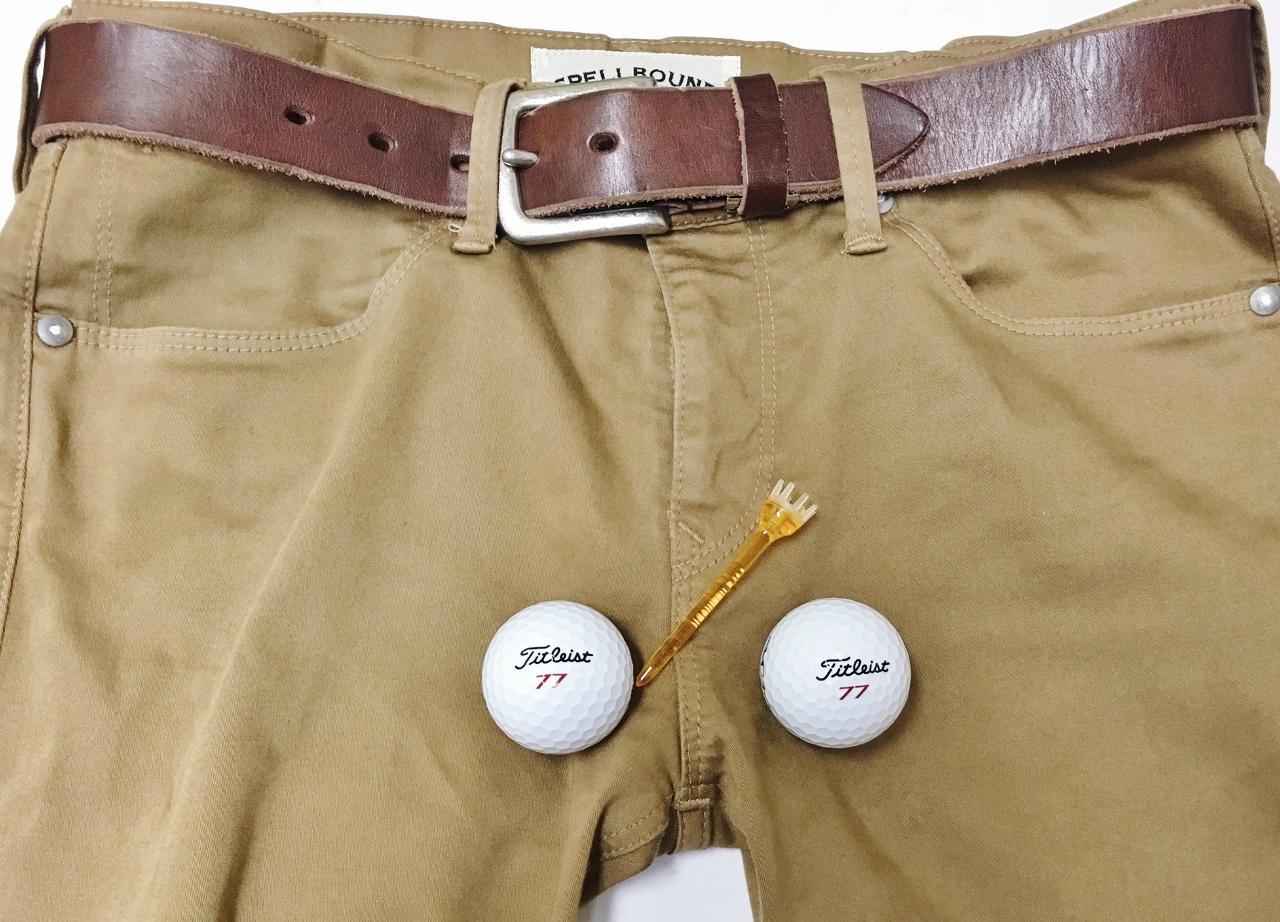 ゴルフバズ夫のズボン
