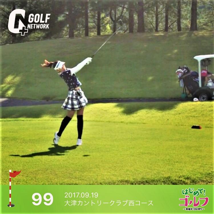 インスタゴルフ女子 saori