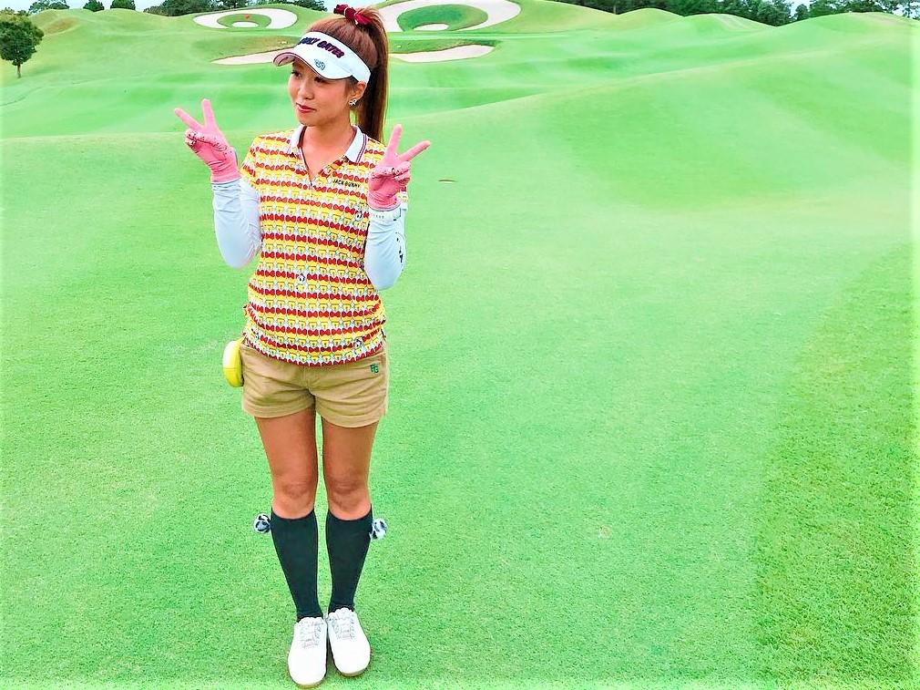 ゴルフ女子ゆかちんまる