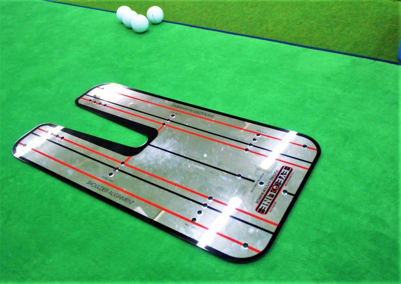 ゴルフ練習器具パッティングミラー