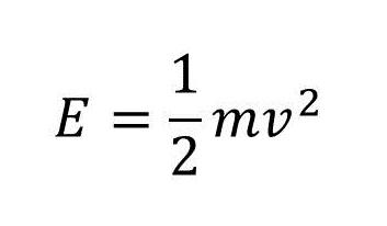 運動エネルギーの計算式