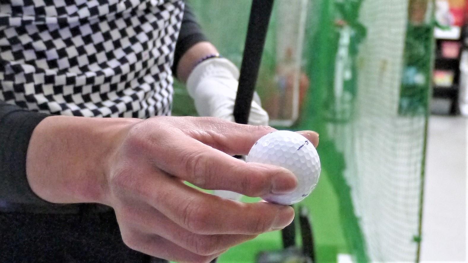 50打目のゴルフボール